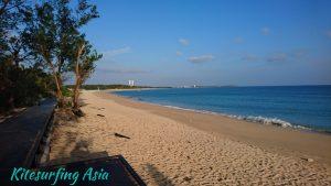 Aimen beach by Lintou park