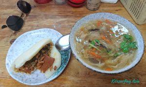 Guabao: the Taiwanese Hamburger at the Magong breakfast alley